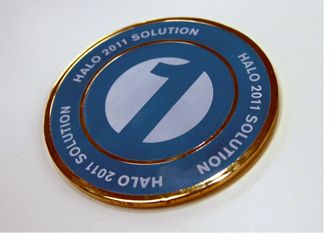 Tradebook Promotional Medallion 3