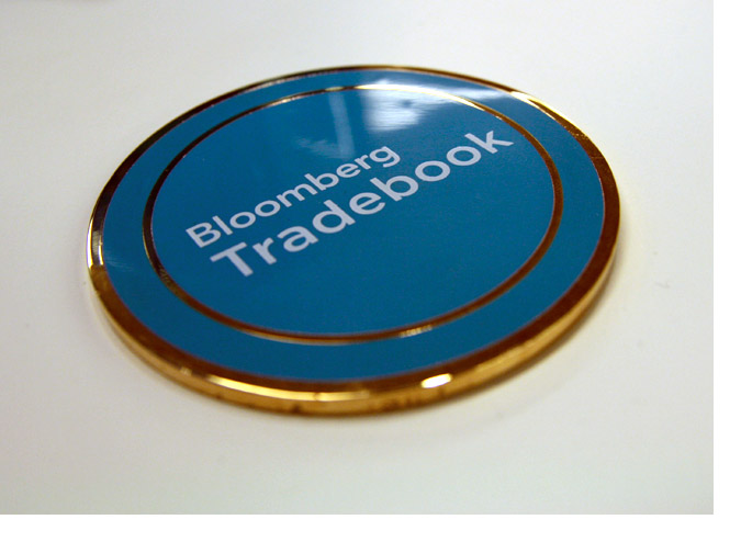 Tradebook Promotional Medallion 4