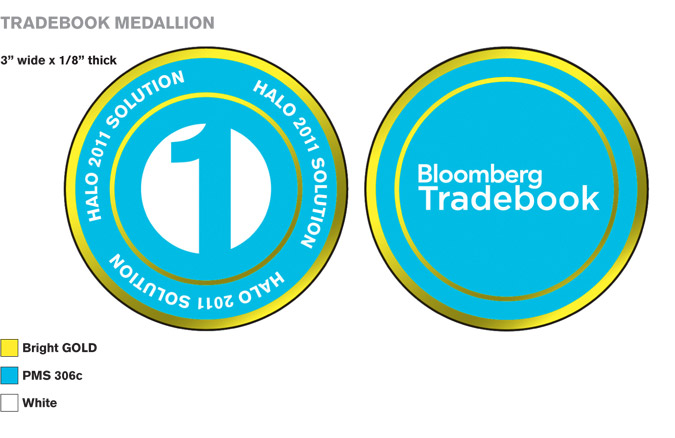 Tradebook Promotional Medallion Design