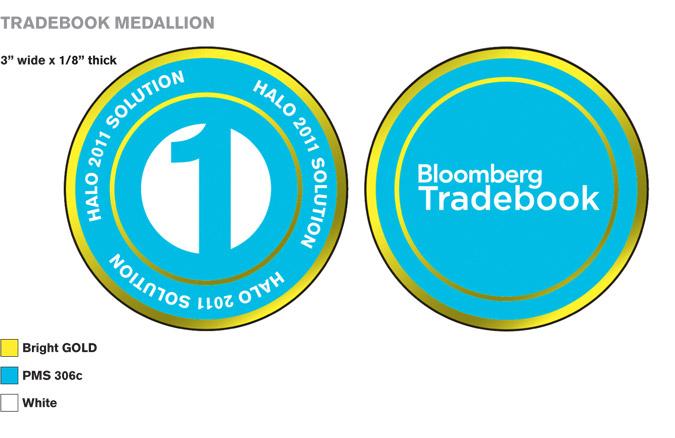 Tradebook Promotional Medallion Design