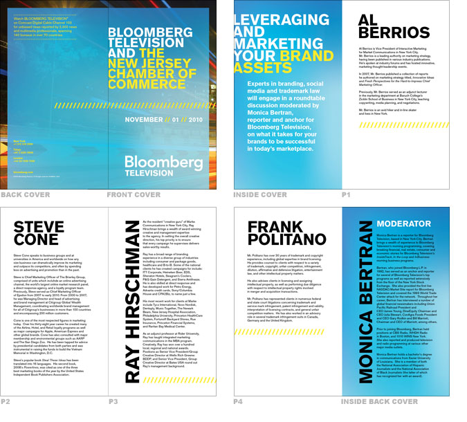 Chamber of Commerce Sample Spreads