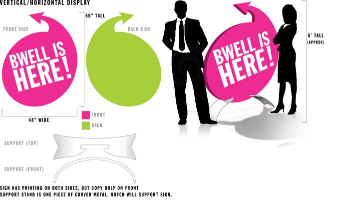 BWELL Arrow Design
