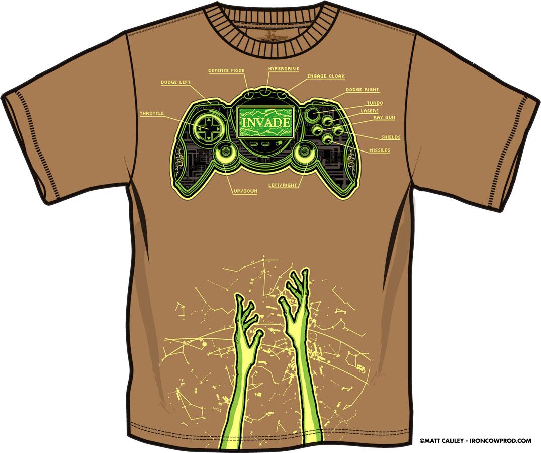 Invade! - T-Shirt Mockup