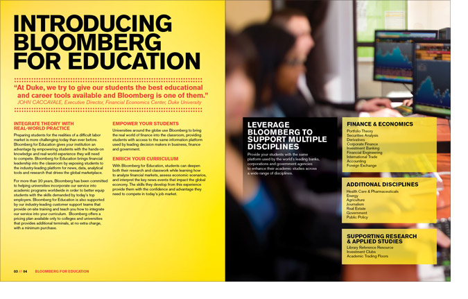 Education Brochure Spread 3