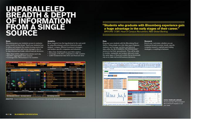 Education Brochure Spread 4