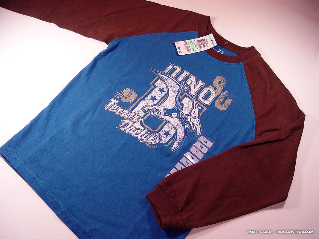 Dino U. Terror Dactyls - T-Shirt
