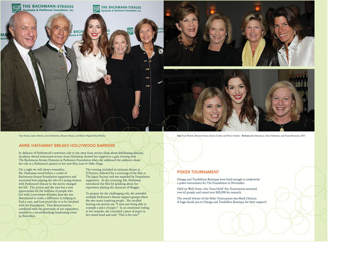 Bachmann Strauss Annual Report Sample Page Spreads