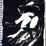 "THE RANDOM SKETCHBOOK by Matt 'Iron-Cow' Cauley - ""Batman"""