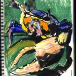 "THE RANDOM SKETCHBOOK by Matt 'Iron-Cow' Cauley - ""Crabbie Crab"""