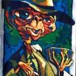 "THE RANDOM SKETCHBOOK by Matt 'Iron-Cow' Cauley - ""E.T."""