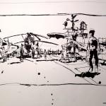 "U.S.S. INTREPID SKETCHBOOK by Matt 'Iron-Cow' Cauley - ""Flight Deck"""
