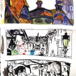 "EPCOT SKETCHBOOK by Matt 'Iron-Cow' Cauley - ""Germany"""