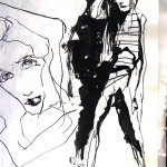 "PEOPLE SKETCHBOOK by Matt 'Iron-Cow' Cauley - ""Girl #1"""