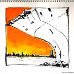 "U.S.S. INTREPID SKETCHBOOK by Matt 'Iron-Cow' Cauley - ""Harbor"""