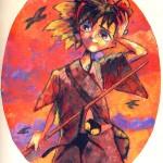 "THE RANDOM SKETCHBOOK by Matt 'Iron-Cow' Cauley - ""Kiki"""