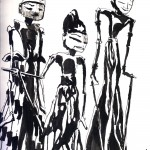 "THE RANDOM SKETCHBOOK by Matt 'Iron-Cow' Cauley - ""Marionettes"""