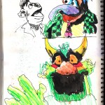 "THE RANDOM SKETCHBOOK by Matt 'Iron-Cow' Cauley - ""Muppets 2"""