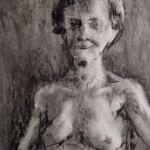 """PEOPLE SKETCHBOOK by Matt 'Iron-Cow' Cauley - """"Old Woman"""""""