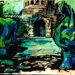 "THE CITY SKETCHBOOK by Matt 'Iron-Cow' Cauley - ""Rhinos"""