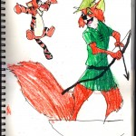 "THE RANDOM SKETCHBOOK by Matt 'Iron-Cow' Cauley - ""Robin Hood"""