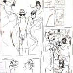 """PEOPLE SKETCHBOOK by Matt 'Iron-Cow' Cauley - """"Sonic Youth Doodles"""""""