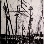 "THE CITY SKETCHBOOK by Matt 'Iron-Cow' Cauley - ""South Street Seaport #2"""