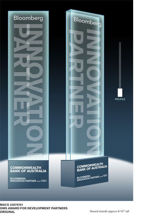 Innovation Partner Trophy Design
