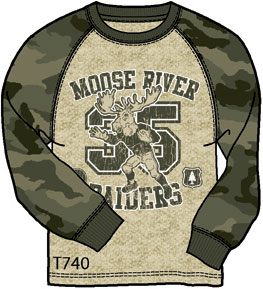 Moose River Raiders - T-Shirt Mockup
