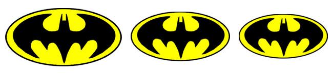 Neal Adams Batman Emblems