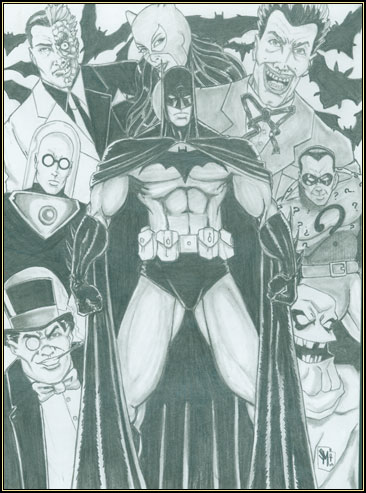 """Batman: Rogues Gallery"" by Stephen Morrissey (aka Anubis8)"