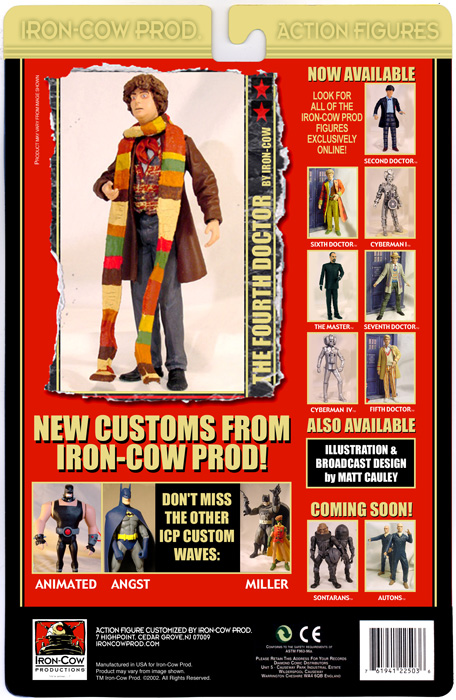 ICP - Promotional Cardbacks (Doctor Who)