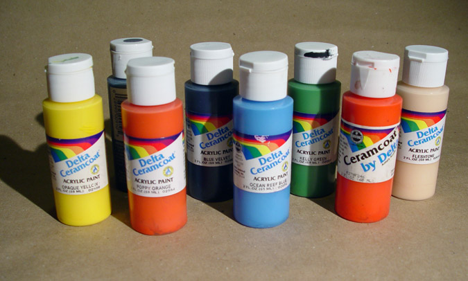 How Much To Thin Testors Acrylic Paint