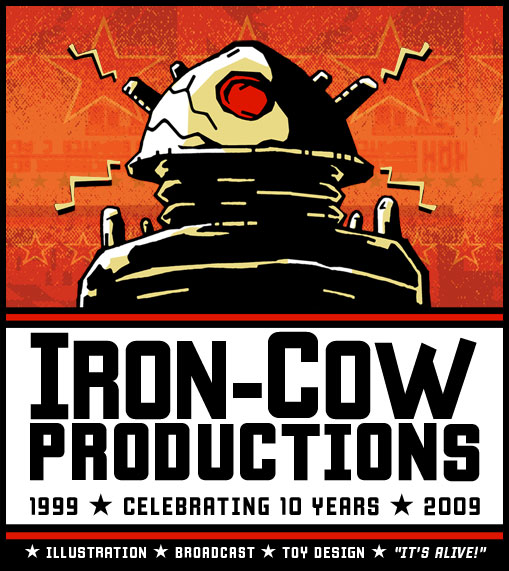 Iron-Cow Prod. 10year Anniversary logo