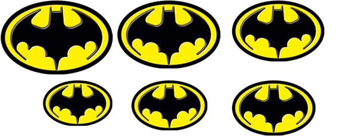 Keaton Batman Emblems