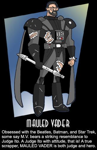 Mauled Vader