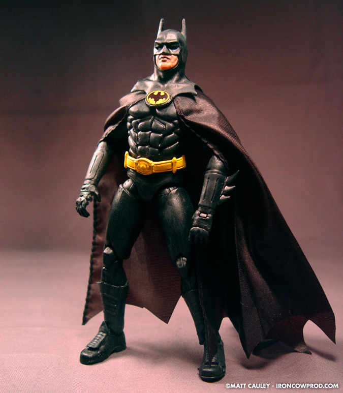 CUSTOM WORKSHOP: Completed Michael Keaton Batman figure