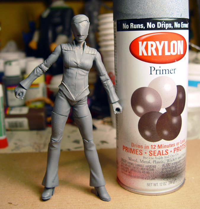 Step 6: Priming the Figure