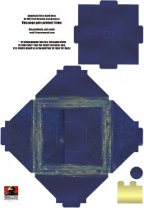 Doctor Who: Make Your Own TARDIS (Download 3 of 4) Base and Supports
