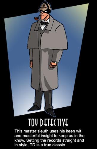 Toy Detective