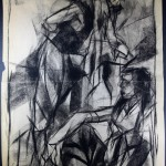 Charcoal Works: Composition Study