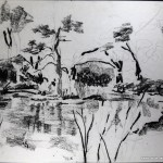 Charcoal Works: Lakeside