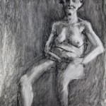 Charcoal Works: Old Woman