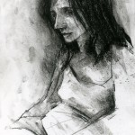 Charcoal Works: Thecla 5