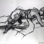 Charcoal Works: Wounded Model