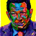 """Hugo Chavez"" - Latin America Investing Conference Illustrations by Matt Cauley / Iron-Cow"