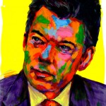 """Juan Manuel Santos"" - Latin America Investing Conference Illustrations by Matt Cauley / Iron-Cow"