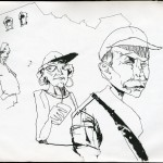 "EPCOT SKETCHBOOK by Matt 'Iron-Cow' Cauley - ""Grandparents"""