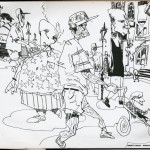 "EPCOT SKETCHBOOK by Matt 'Iron-Cow' Cauley - ""Stroller"""