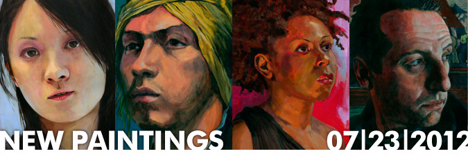 """New """"Big Heads"""" Paintings Added"""