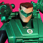 Green Lantern Hal Jordan Autobot Armor Custom DC Comics Action Figure by Matt Iron-Cow Cauley